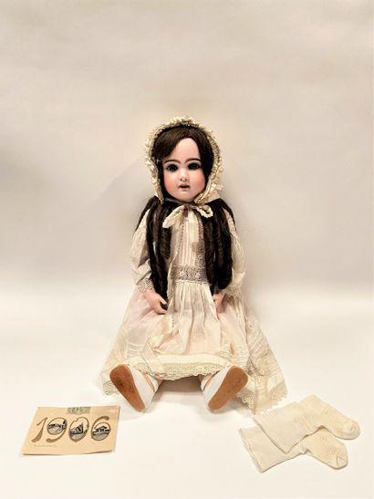 Une poupée française avec tête en biscuit