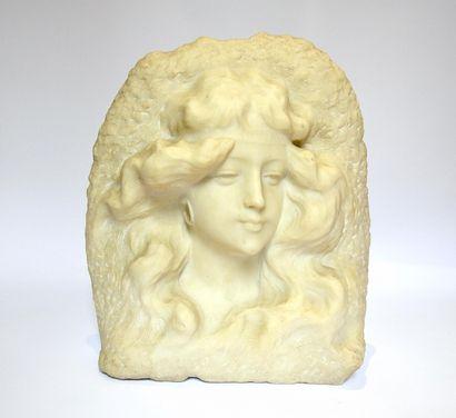 Haut-relief en albâtre