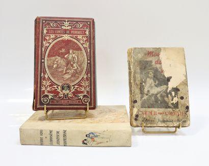 Lot de trois volumes :  - Mon sang dans tes...
