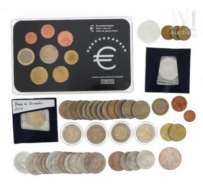 Lot de pièces de monnaie diverses
