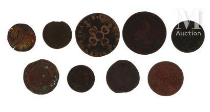 Lot de pièces de monnaies