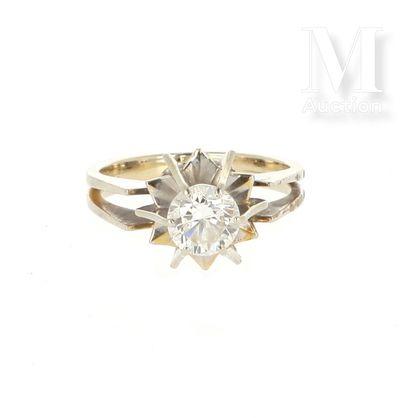 Solitaire diamant 0.80 ct.