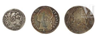 Trois pièces argent