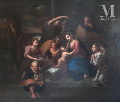 Ecole FRANÇAISE de la fin du XVIIème siècle, entourage de Pierre MIGNARD