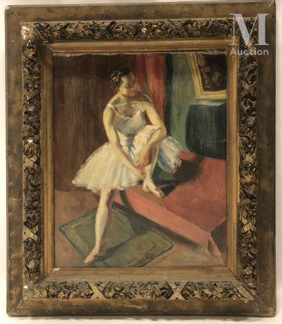 Ecole du XXème siècle, d'après Edgar Degas