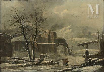 Attribué à Cesar Denis Van LOO (1743 - 1821)