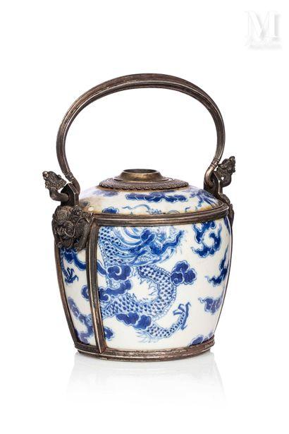 VIETNAM, XIXe siècle, Pipe à eau