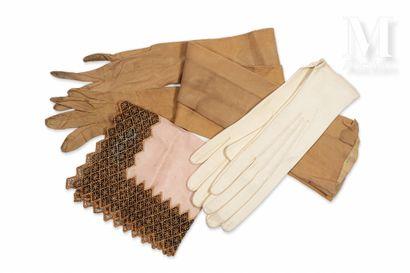 Lot de 2 paires de gants,