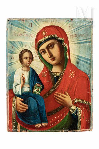 Icône de la Mère de Dieu Pravorutchnitsa dite «Droitière».
