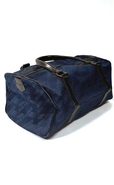 AIR FRANCE  Petit sac en tissu bleu appliqué...