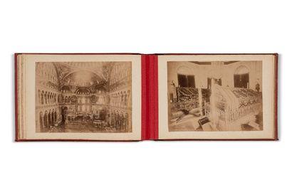 SÉBAH & JOAILLIER - Album de 30 tirages albuminés sur Constantinople