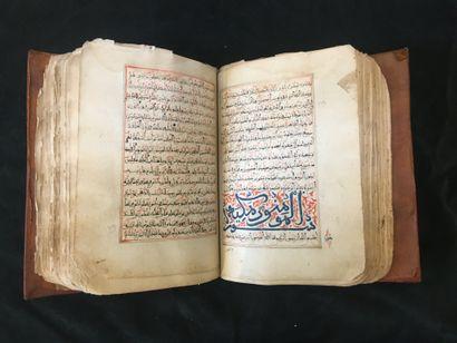 Coran en maghribi