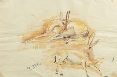 Omar ONSI (Tallet Al-Khayat 1901 - Beyrouth 1969)