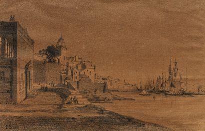 Attribué à Fabius BREST  (1823-1900)
