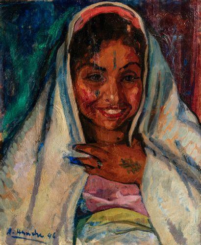 Abdelhalim HEMCHE (Tlemcen 1908- Fontenay le Briis 1979)