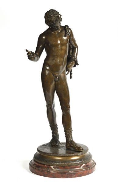 D'après l'ANTIQUE par Vincenzo GEMITO (1852-1929)...