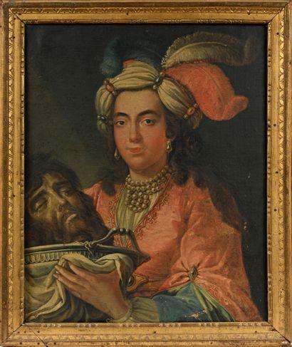 Ecole FRANCAISE du XVIII ème, Salomé avec...