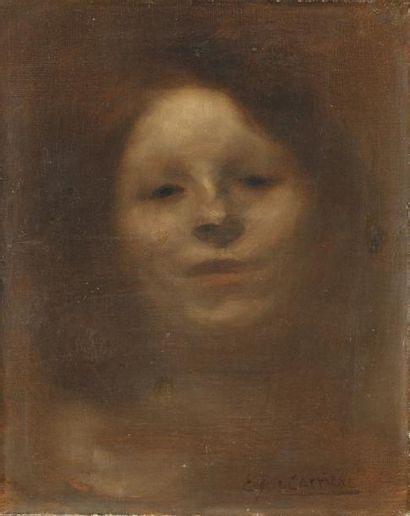 Eugène Carriere (Gournay 1849-Paris 1906)