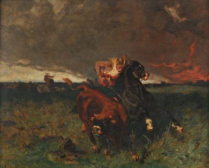 Evariste Luminais (nantes 1822-Paris 1896)