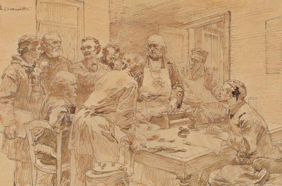 Léon LHERMITTE (Mont Saint Père 1844-Paris 1925)