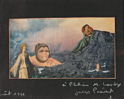 Jacques PREVERT (Neuilly sur Seine 1900- Omonville -la- Petite 1977)