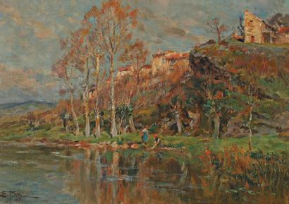 Edmond PETITJEAN (Neufchâteau 1844-Paris 1925)