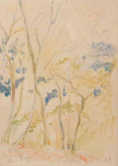 Berthe MORISOT (Bourges 1841-Paris 1895)
