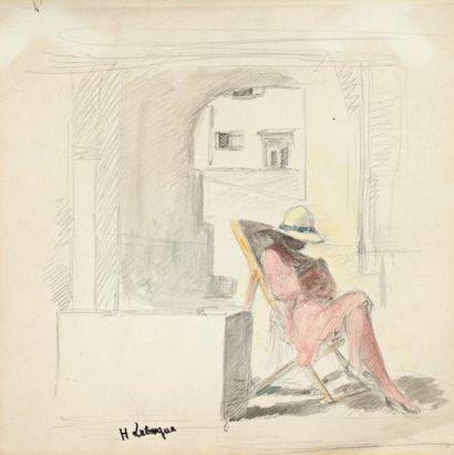 Henri LEBASQUE (Champigné 1865-Le Cannet 1937)
