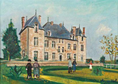Maurice UTRILLO (Paris 1883-Dax 1955)
