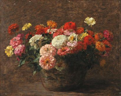 Victoria Fantin-Latour née Dubourg (Paris 1840-1926)