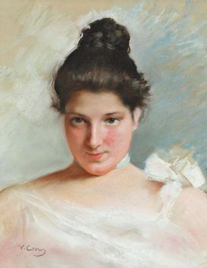 Vittorio Corcos (Livourne 1859-Florence 1933)