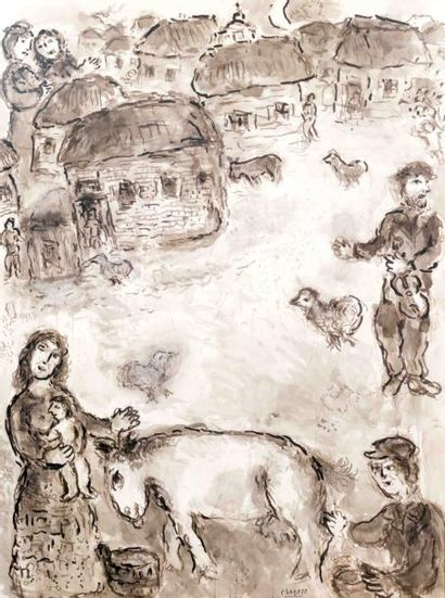 Marc Chagall 1887-1985 (French, Russian)
