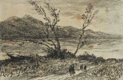 Henri-Joseph Harpignies (Valenciennes 1819 - Saint Privé 1916)
