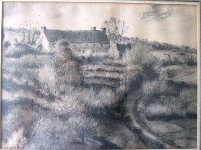 Attribué à Jean Baptiste Millet (Gréville 1831 - Auvers-sur-Oise 1906)