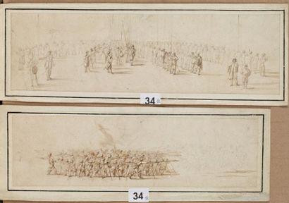 Entourage d'Israël SYLVESTRE (Nancy 1621 - Paris 1691)