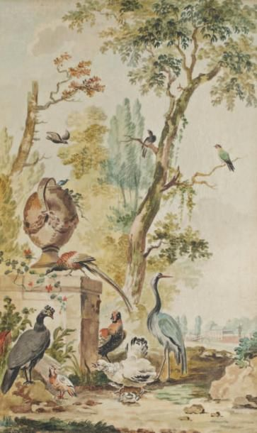 Attribué à Abraham Van Strij (Dordrecht 1753 - 1826)