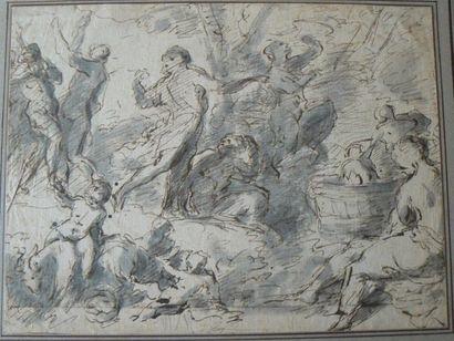 Ecole française du début du XVIIIème siècle