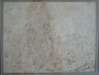 Ecole de François Boucher (Paris 1703 - 1770)