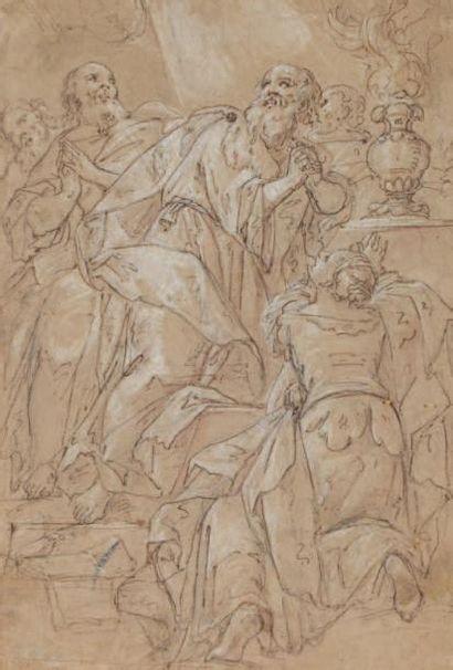 Attribué à Raffaellino MOTTA dit Raffaellino da REGGIO (Codemondo 1550 -Rome 1578)