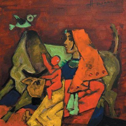 Maqbool Fida HUSAIN (1915-2011) Indian