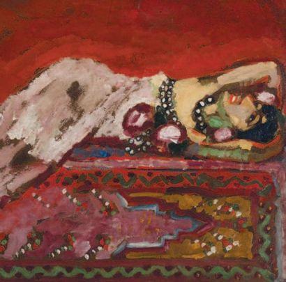 Kees VAN DONGEN (1877-1968) Dutch Odalisque couchée, 1909 Signed 'Van Dongen' (upper...