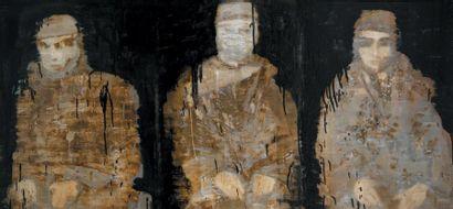 Reza DERAKSHANI (1952-) Iranian Silent warriors, 2010 Signed (lower right corner);...