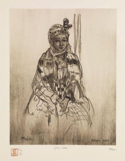 JEHAN FRISON (1882-1961) ÉCOLE BELGE MAROC