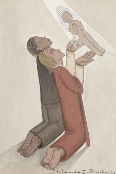 LAMBERT- RUCKI (Carcovie 1888 - Paris 1967)