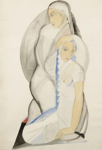 Maria ALEKSANDROVNA LAGORIO (1893 - 1979)