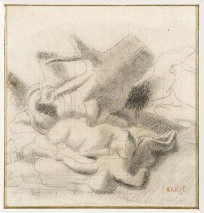 Antoine Louis BARYE (Paris 1796-Paris 1875)