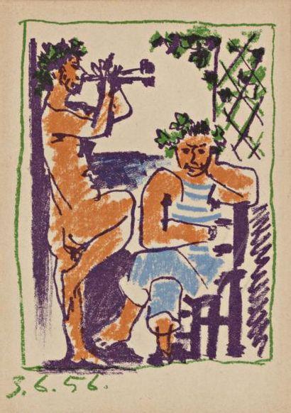Pablo PICASSO (Malaga 1881 - Mougins 1973)