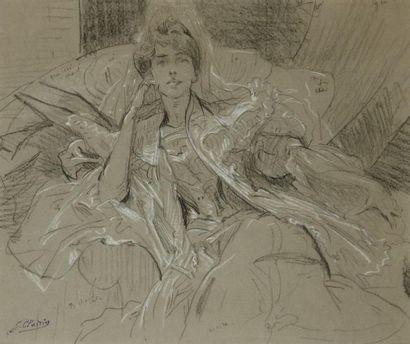 GEORGES CLAIRIN (PARIS 1843 - BELLE ÎLE EN MER 1919)