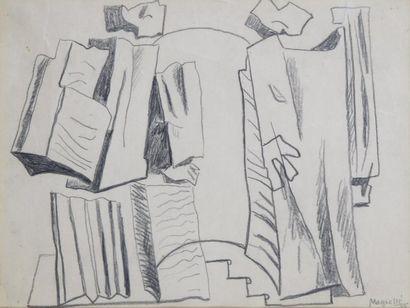 Alberto MAGNELLI (Florence 1888 - Meudon 1971)
