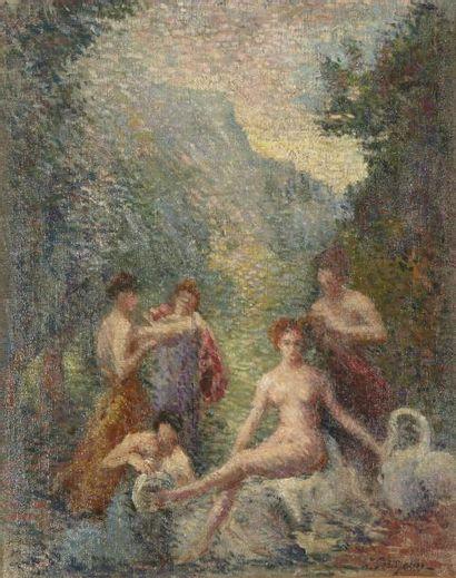 HIPPOLYTE PETITJEAN (MÂCON 1854 - PARIS 1929)